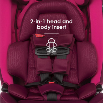 2-in-1 head and body insert [Purple Plum]