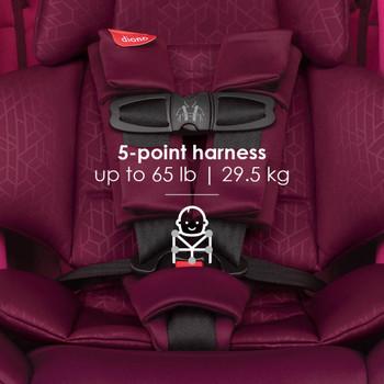 5-point harness [Purple Plum]