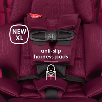 New XL anti-slip harness pads [Purple Plum]