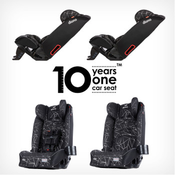 10 Year one car seat [Black Platinum]