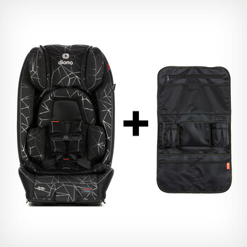 Convenient and stylish bundle with back seat organizer [Black Camo]