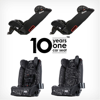10 Year one car seat [Black Camo]