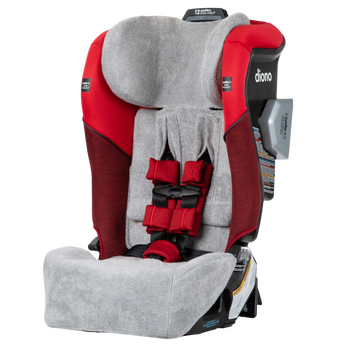 Diono Car Seat Summer Cover, Keep Your Babys Car Seat Cool, Absorbs Excess Moisture, Compatible With Radian Q Convertible Car Seats [Gray]