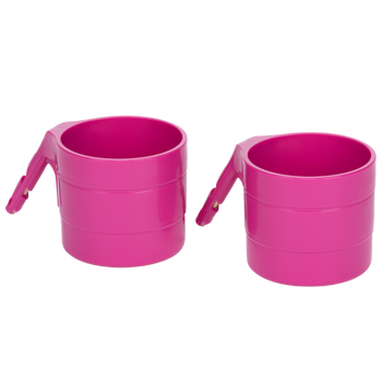 Diono Car Seat Cup Holders for Radian, Everett and Rainier Car Seats, Pack of 2 Cup Holders [Purple Plum]