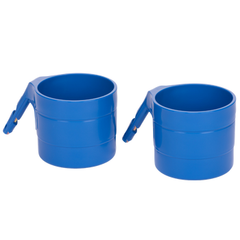 Diono Car Seat Cup Holders for Radian, Everett and Rainier Car Seats, Pack of 2 Cup Holders [Blue Sky]