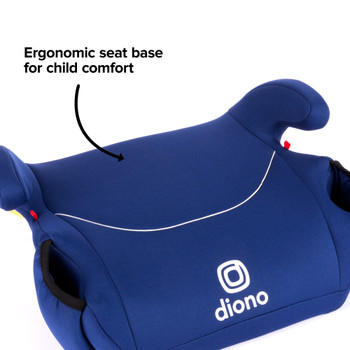 Ergonomic seat base for child comfort [Blue]