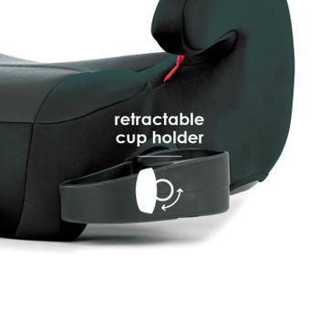 Retractable cup holder [Black]