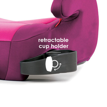 Retractable cup holder [Pink]