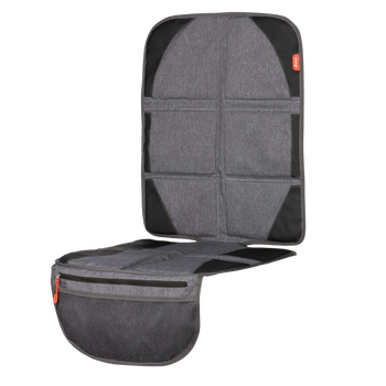 Ultra-Mat Deluxe car seat protector includes all the great features of Diono's Ultra Mat but with an additional heat shield