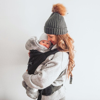 We Made Me Imagine Classic 3-in-1 Baby Carrier [Midnight Black]