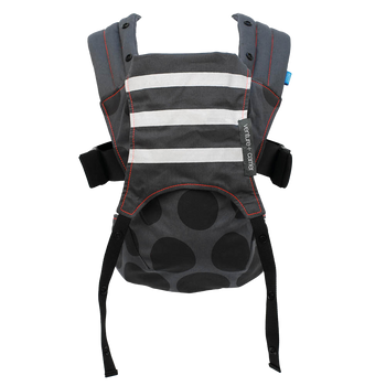 We Made Me Venture+ 2-in-1 Toddler Carrier, [Black Gradient Spots]