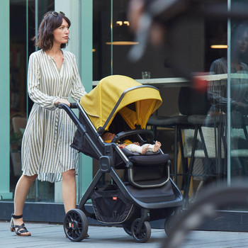 Quantum 2 Stroller, 3-in-1 Multi-mode stroller and travel system suitable from birth [Orange Facet]  [Black Cube] [Copper Hive] [Gray Linear]
