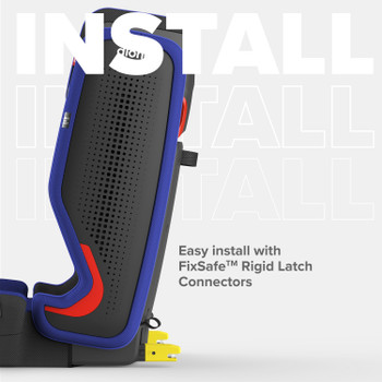 Easy install with FixSafe™ rigid latch connectors [Blue Sky]
