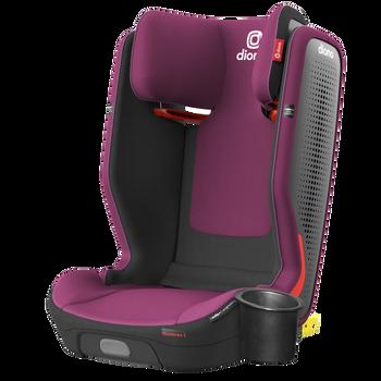 Monterey® 5iST FixSafe™ High back booster car seat [Purple Plum]