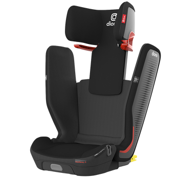 Monterey® 5iST FixSafe™ High back booster car seat [Black Jet]