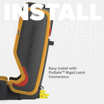 Easy install with FixSafe rigid latch connectors [Yellow Mineral]