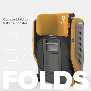 Compact fold to full size booster [Yellow Mineral]