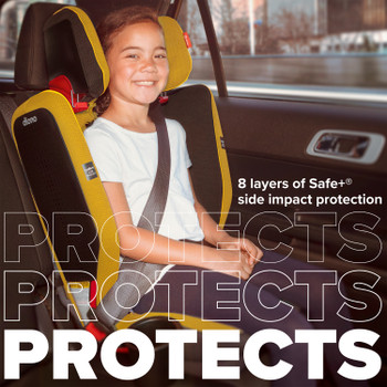 8 layers of safe+ side impact protection [Yellow Mineral]