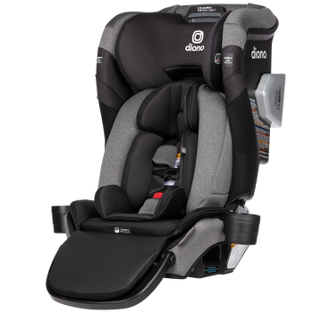 New Diono Radian 3QXT+ All in One Luxury Convertible Car Seat, Suitable From Birth to Booster