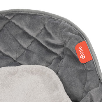 Ultra Dry Seat Deluxe Car Seat and Stroller Protector and Cushion [Gray]