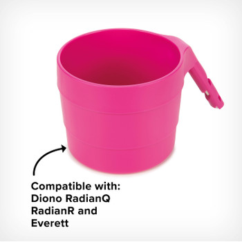 Diono XL Cup Holders for Radian and Everett NXT (Pack of 2) [Purple Plum]