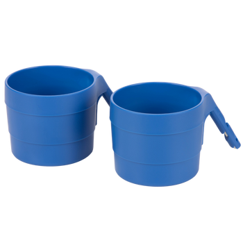 Diono XL Cup Holders for Radian and Everett NXT (Pack of 2) [Blue Sky]
