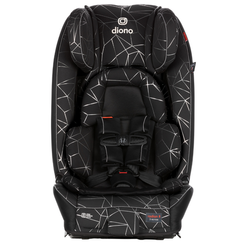 Radian® 3RXT luxe all-in-one convertible car seat [Black Platinum]