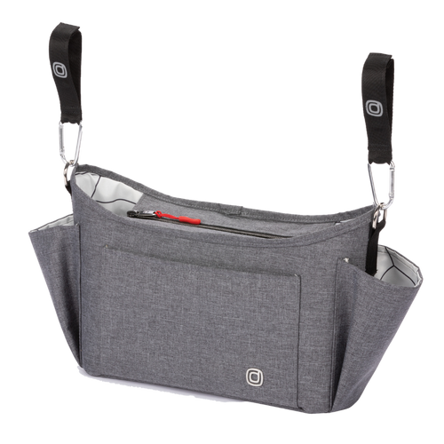 The Diono Buggy Buddy XL is the all new 8 in 1 stroller organizer