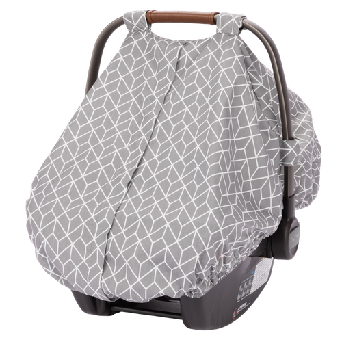 Infant Car Seat Cover [Gray]