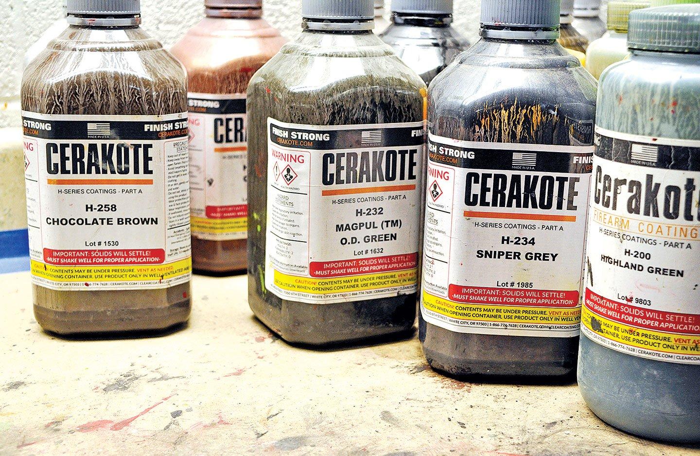 Cerakote Bottles
