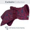 Paisley Dogrobe Exclusive Collection with Harness Access Opening
