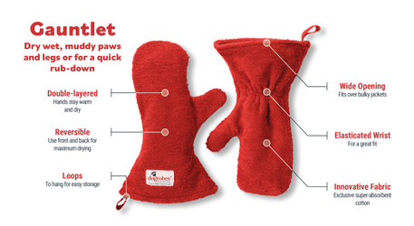 All You Need to Know About Dogrobes' Gauntlets Dog Drying Mitts