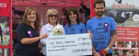 Our Donation To All Dogs Matter - Blog Post