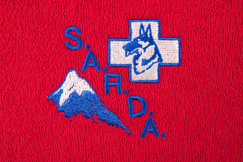 Trade Logo Embroidery (both sides)