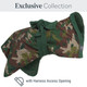 Camouflage Dogrobe Exclusive Collection with Harness Access Opening