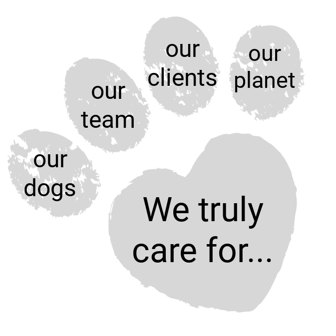 Dogrobes' Values Pawprint