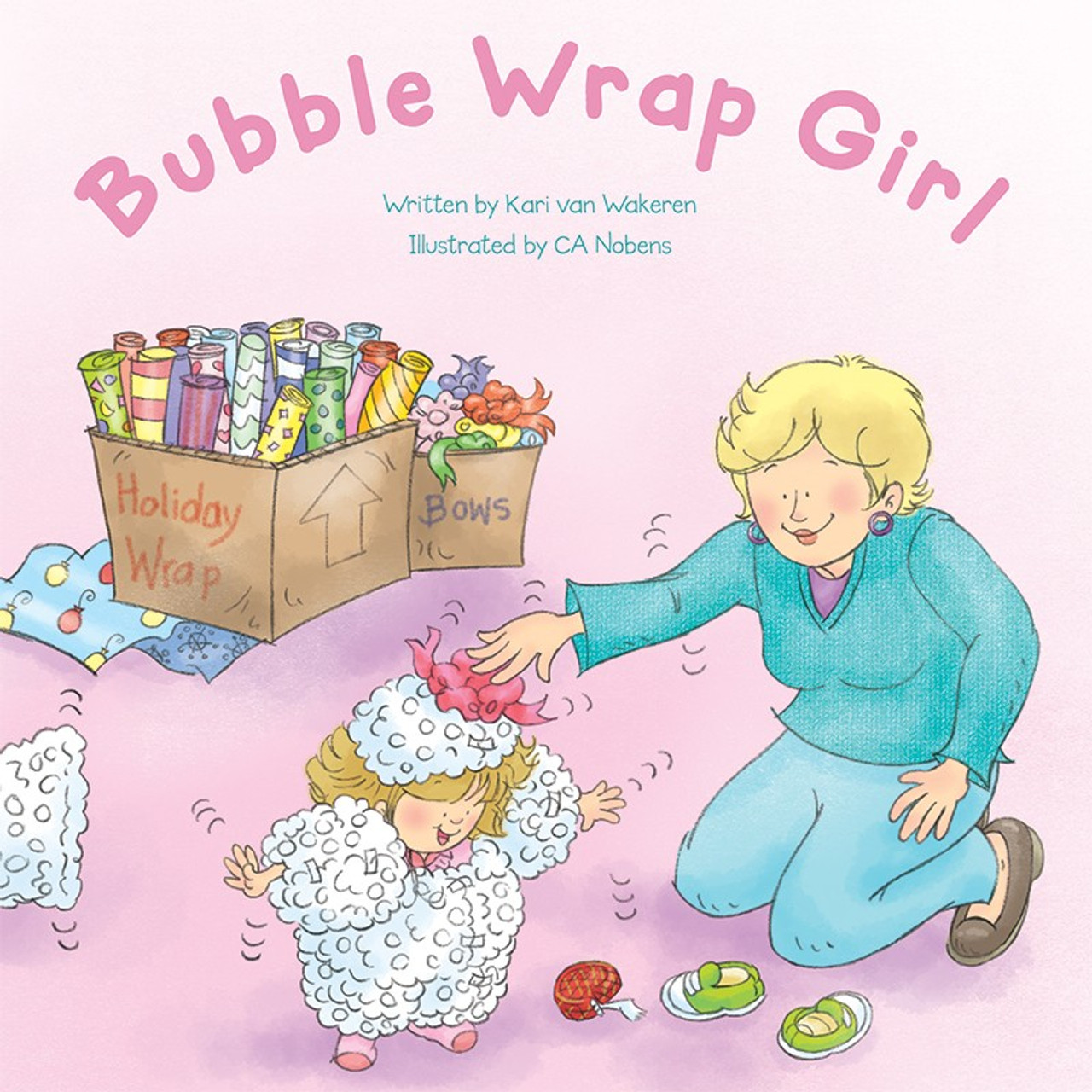 Bubble Wrap Girl