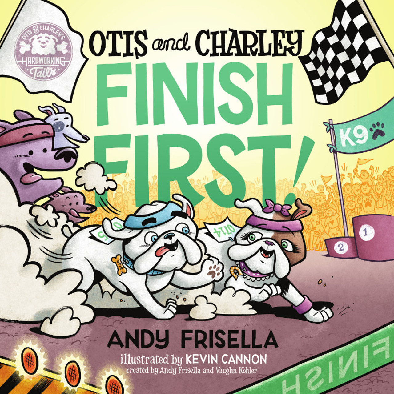 Otis and Charley Finish First!