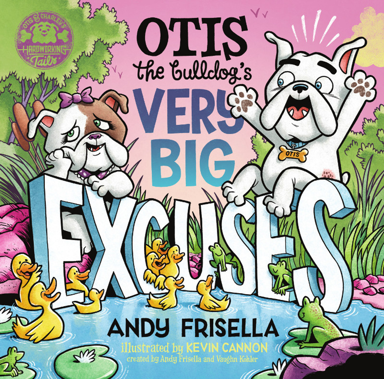 Otis the Bulldog's Very Big Excuses