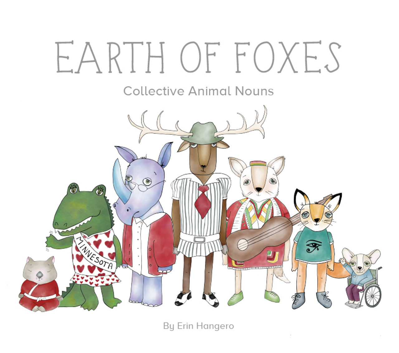 Earth of Foxes: Collective Animal Nouns