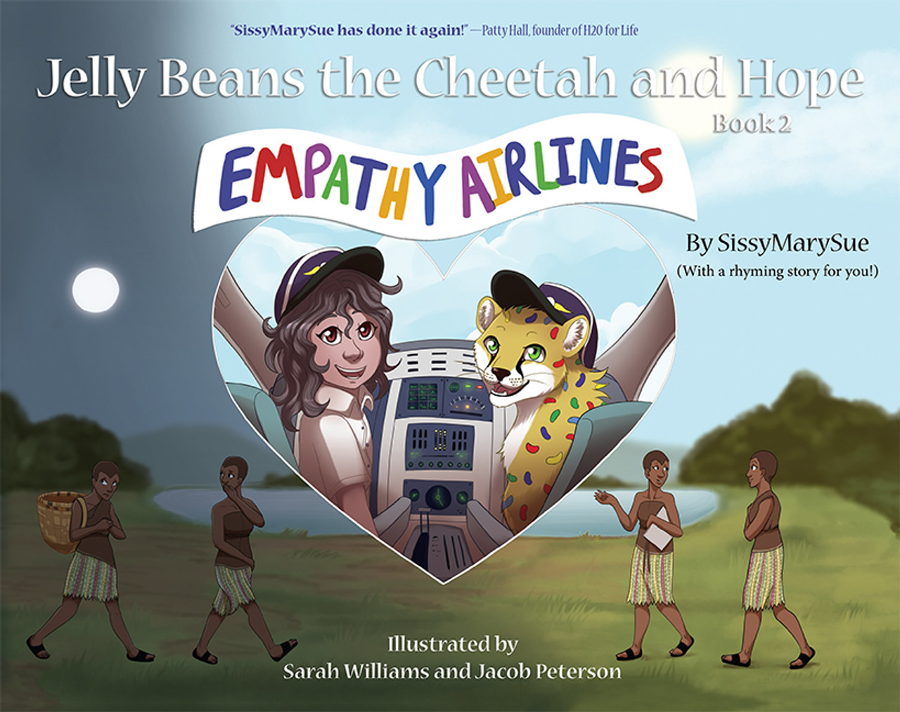 Empathy Airlines: Jelly Beans the Cheetah and Hope Book 2