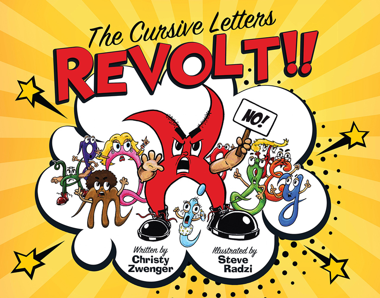 The Cursive Letters REVOLT!!