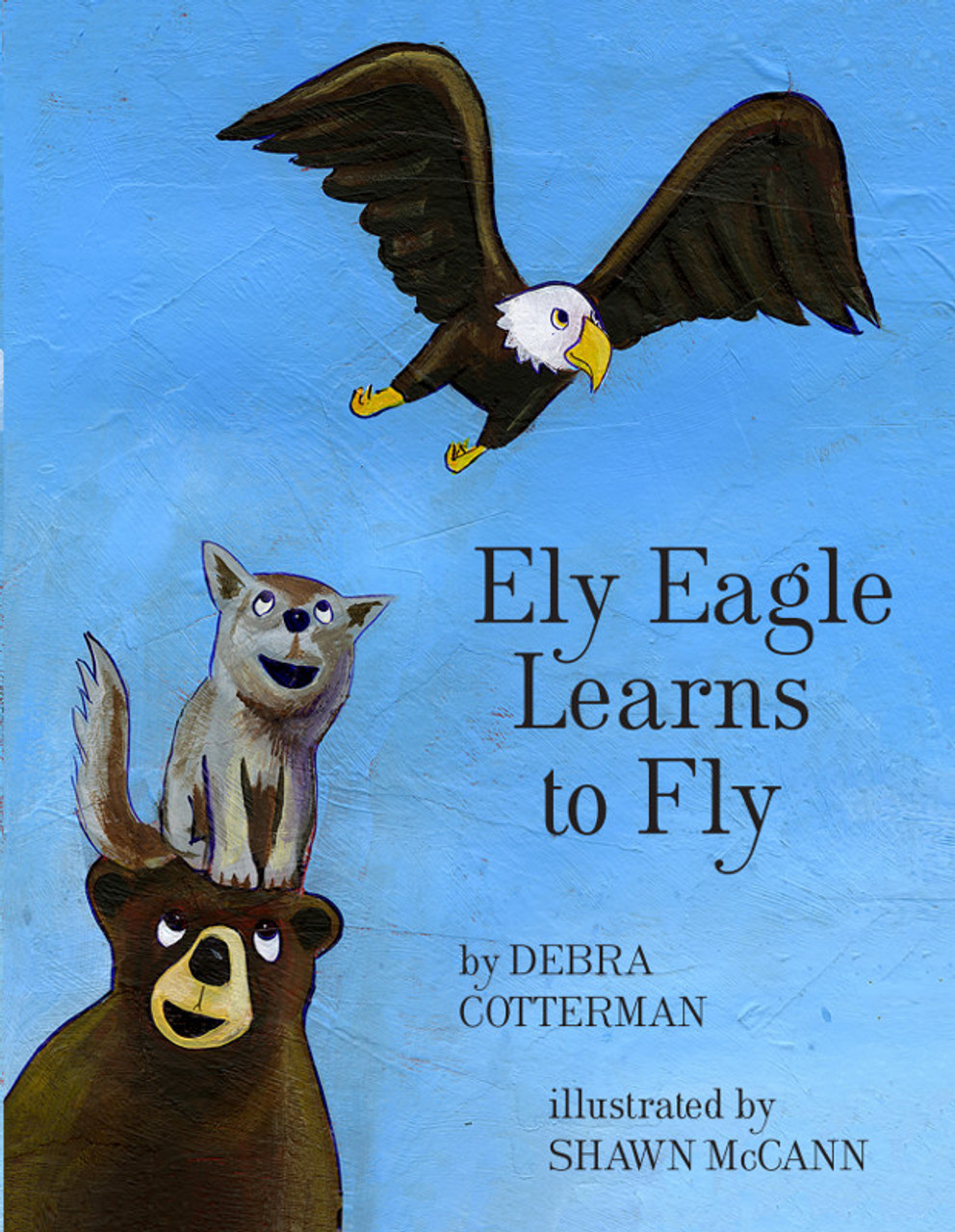 Ely Eagle Learns to Fly