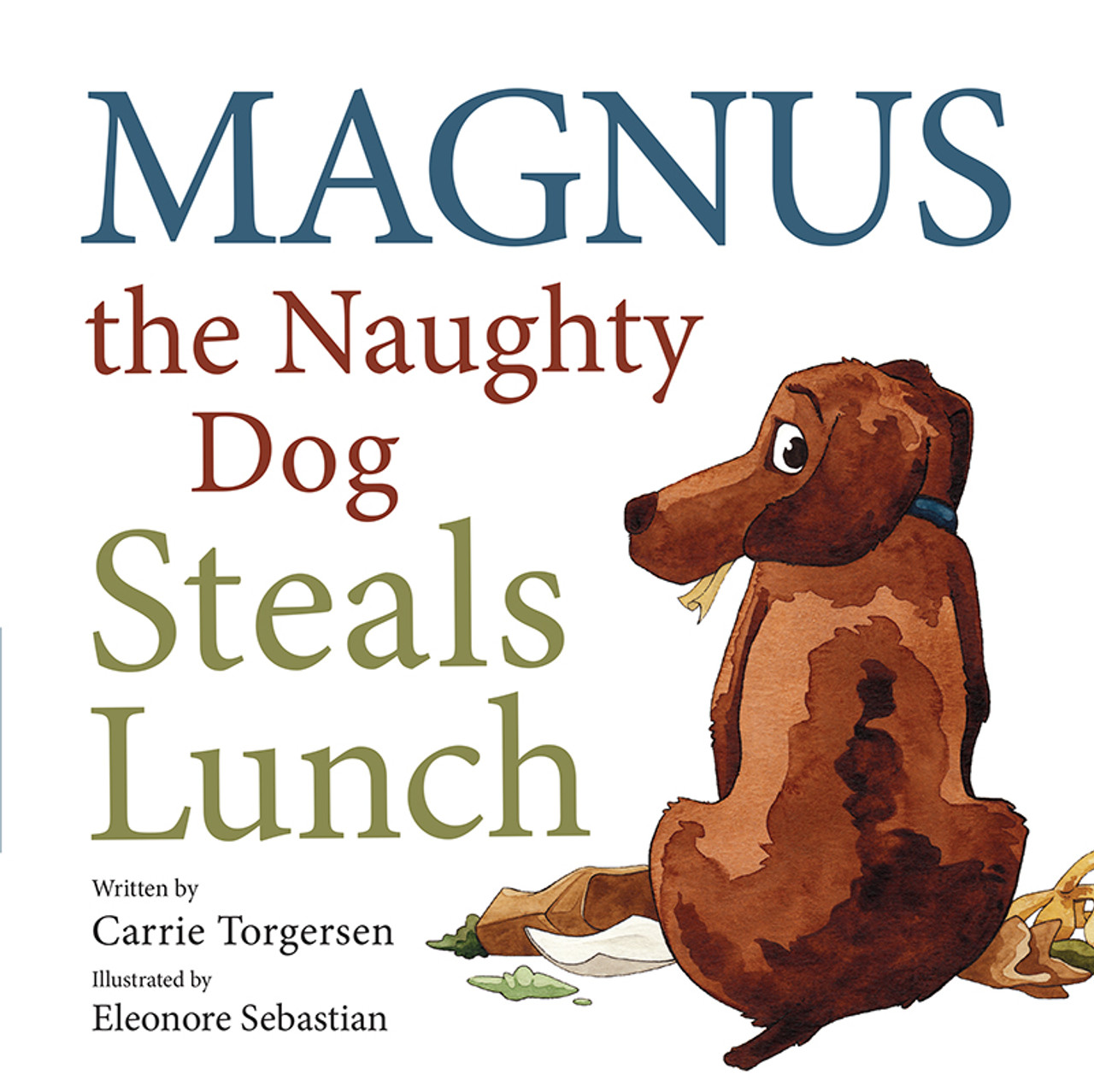 Magnus the Naughty Dog Steals Lunch