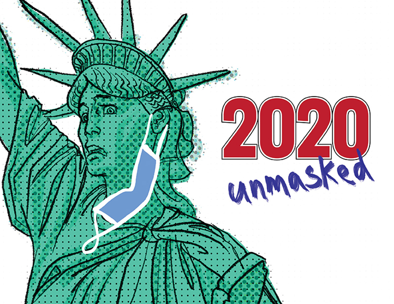 2020 Unmasked: A Compilation of Political Satire Short Stories