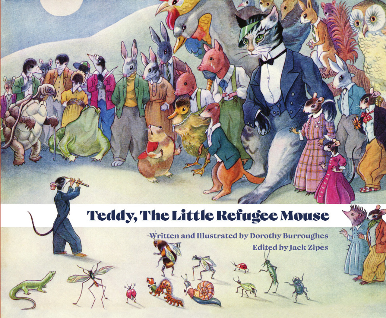 Teddy, The Little Refugee Mouse