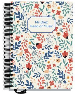 Designer Teacher Planners - Floral