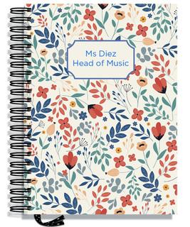Designer Notebooks - Floral