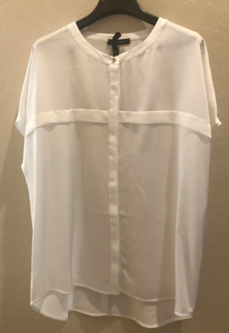 White lightweight blouse.