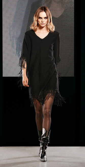 Jijil Collection Fringe Dress